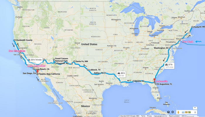 Карта путешествия вокруг света. Путешествие по США. Путешествие по Америке. Путешествие по Мексике. Автостоп в Америке. Вокруг света без обратного билета.