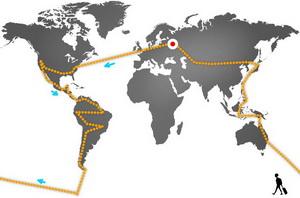 Кругосветное путешествие. Вокруг света без обратного билета