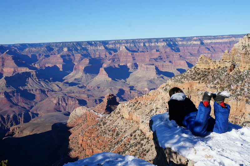 Путешествие по США. Гранд каньон.