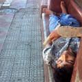Нищие в Никарагуа. Бедность. Расслоение общества.