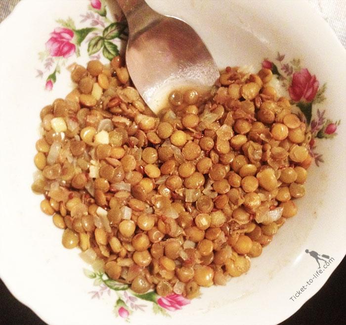 вкусные рецепты чечевицы фото