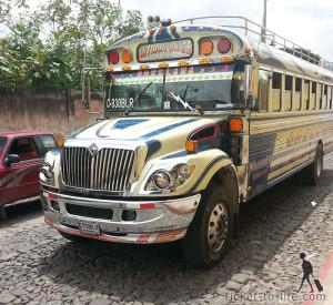чикенбас. автобус в латинсокй америке, транспорт в америке. латинская америка