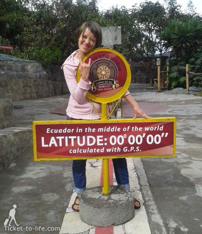 экватор. митад дель мундо. музей на экваторе. линия экватора